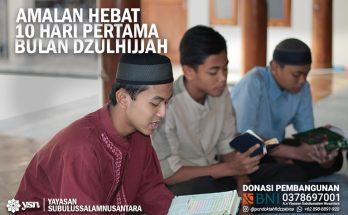 dalil amalan Dzulhijjah_Puasa_Sunnah